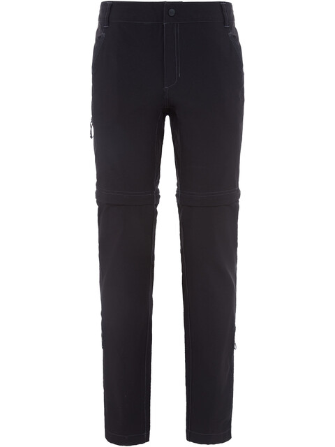 The North Face Exploration Convertible Pants Women Short TNF Black